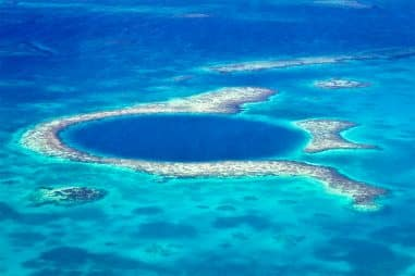 Why Is the Great Blue Hole in Belize Famous